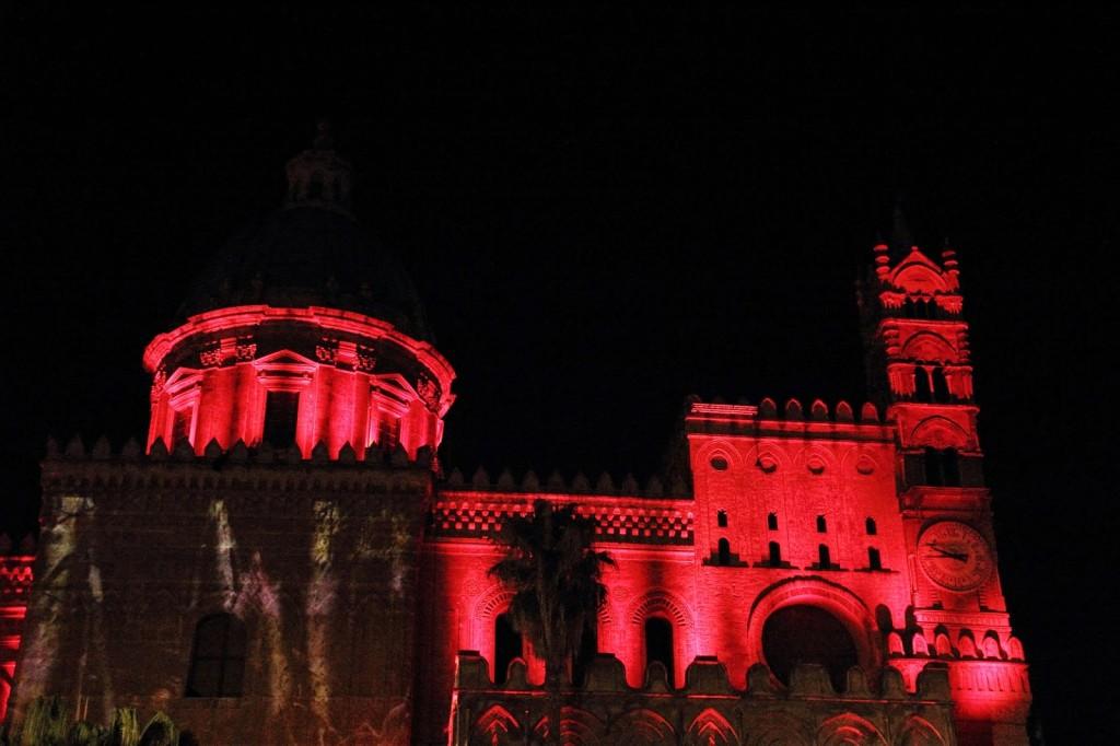 palermo cattedrale video mapping patrizia graziano